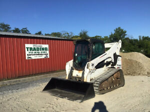 2012 Bobcat T770 Compact Track Skid Steer Loader Cab 2spd High Flow 2800hrs