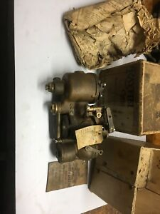 Nos Rayfield Bronze Brass Carburetor Model G4e 1 3 4 Throat W Original Box