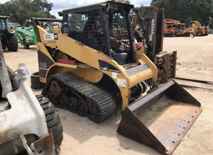 2006 Caterpillar 257b Compact Track Skid Steer Loader Only 2300