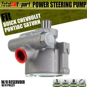 Power Steering Pump W O Reservoir And Pulley For Chevrolet Buick Pontiac Saturn