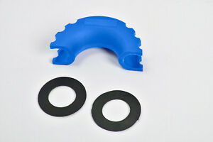 D ring Blue Bow Shackle Isolator Jeep Off Road 3 4 Plastic Silencer Anti noise