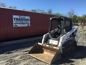 2015 Bobcat T450 Compact Track Skid Steer Loader W Only 1300hrs