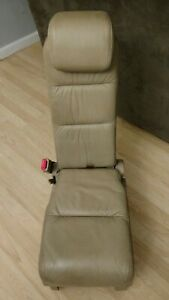 2005 2006 2007 Honda Odyssey Center Middle 2nd Row Jump Seat Tan Leather