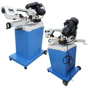 3 Phase Motor Metal Cutting Cutter Band Saw 5 X 6 Horizontal Vertical Swivel