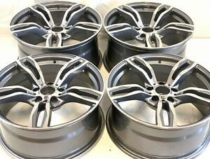 19 Wheels Rims Bmw Fit M4 M3 437m M2 Sport 19 Staggered Fac Style 86094 86095