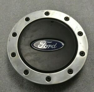Ford Windstar 99 00 01 02 03 Factory Oem Black And Silver Center Cap 1f22 1a096