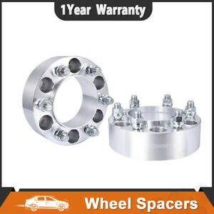 2pcs 2 Hubcentric 6x5 5 Wheel Spacers Adapters For Toyota Tundra Tacoma 4runner