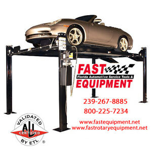 Direct Lift Pp8s 8 000 Lbs 4 Post Lift Same As Rotary Revolution Rfp8