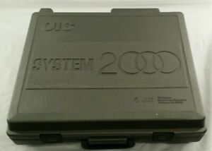Otc System 2000 Diagnostic Computer Set With Cartridges And Vehicle Cables