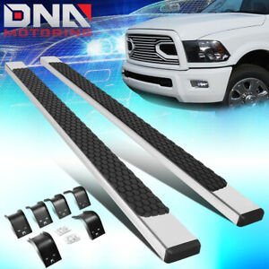 For 2009 2020 Ram Truck 1500 2500 Crew Cab Pair 5 Nerf Step Bar Running Boards