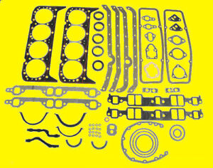 Sbc Small Block Chevy Gaskets Sbc 283 302 307 327 350 67 85 Full Kit Gasket