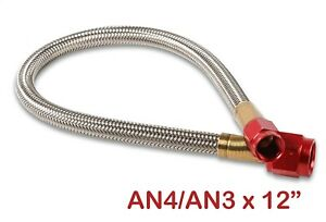 Nos 15341nos Stainless Steel Braided Hose