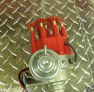 Sbc Bbc Small Hei Distributor Red To Run Ready Small Big Block Chevy Electronic