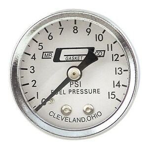 Mr Gasket 1561 Fuel Pressure Gauge