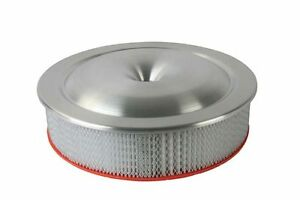 Moroso 65920 16in Alum Air Cleaner Low Profile 7 5 16 Neck