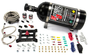 Nitrous Outlout 4150 Stinger Plate System 50 600hp 45 55psi