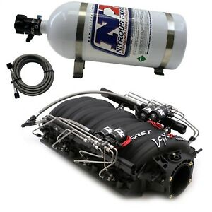 Nitrous Express Intake001 Fast 102 Manifold For Cathedral Port Heads
