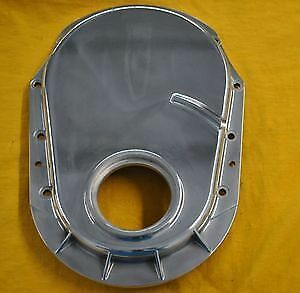 Bbc Polished Aluminum Timing Chain Cover Big Block Chevy Gen 5 Mark Generation X