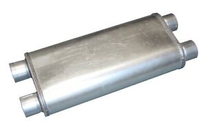 Pypes Performance Exhaust Mvr100 Race Pro Series Muffler