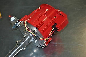 Sbc Bbc Small Block Chevy Hei Distributor Extreme 65k Coil Red