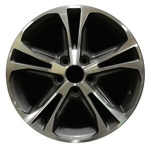 17 Ford Mustang 2013 2014 Factory Oem Rim Wheel 3906 Charcoal Machined