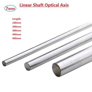 Od 7mm Cylinder Liner Rail Linear Shaft Optical Axis L100 200 300 400 500mm