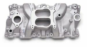 Edelbrock 2104 1987 95 Sb Chevy Performer Intake Manifold Satin Finish
