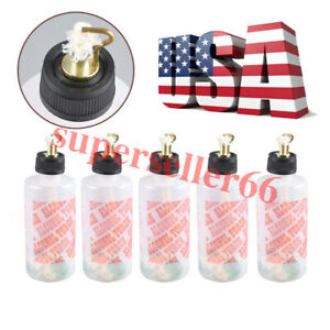 5x Usa 200ml Dental Dentist Lab Jewelry Alcohol Torch Needle Flame Burner Light