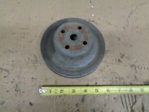 1973 Chevy Monte Carlo 454 Engine Water Pump Pulley Ac 1974 1975 Oem