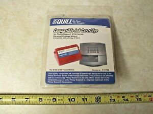 Quill Ink Cartridge Postage Meters For Pitney Bowes E700 g700 Series 769 0 Nos