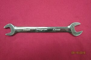 Snap on Vom1113b 11mm X Open End Wrench Usa