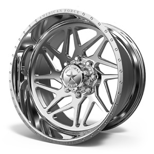 4x 24x14 American Force Ckh02 Genesis Concave Wheels Ford Ram Gmc Chevy Forged