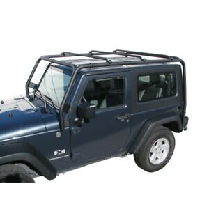 Trail Fx J021t Roof Rack For 2007 2018 Jeep Wrangler Jk Doors With Naked Roof