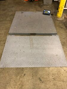 s h Quote fairbanks Model 3300 5000lbs Warehouse Flat Floor Scale