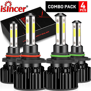 Led Headlight 9005 9006 Fit For Toyota Corolla 2001 2013 High Low Beam Combo Kit