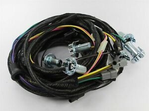 New 1970 Plymouth B Body Convertible Rear Lamp Wiring Harness