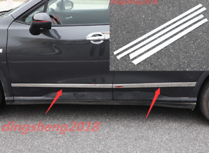 4pcs Stainless Steel Door Body Side Molding Cover Trim Fit For Chevrolet Orlando