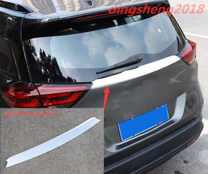 Stainless Steel Exterior Tail Rear Trunk Lid Cover Trim For Chevrolet Orlando