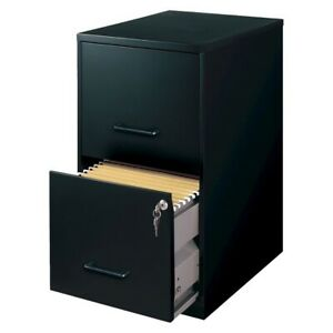 Filing Cabinet 2 drawer Metal Perfect For Home Office