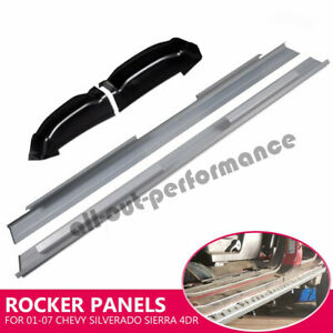Crew Cab Rocker Panels And Cab Corners For 2001 2007 Chevy Silverado Sierra 4dr