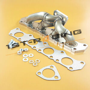 Stainless Exhaust Manifold Header For Audi A3 8l Tt 8n Vw Jetta Golf Iv Gti 1 8t