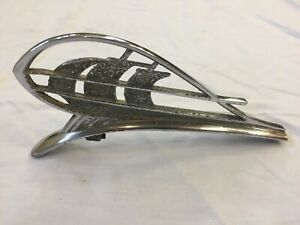 1936 Plymouth Hood Ornament Emblem Chrome Mopar 653596 Trim Molding 36 Sailing