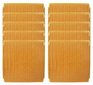 10 Pack Of Washable Poly Nesting Box Pad Mat Bottom Chicken Coop Poultry Nest