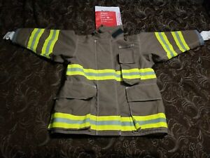 Firefighter Turnout Jacket Coat 42 30 30 Quaker Safety