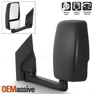 Fits 2003 2019 Chevy Express Gmc Savana Left Driver One Side Towing Mirror