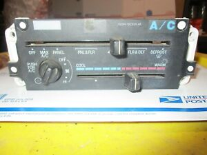 1994 Ranger Ac A c Heater Climate Temperature Control Unit Defroster