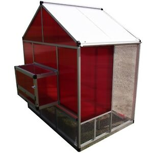 Rite Farm Products Lifetime Series Xl Chicken Coop Poultry Hen Layer Cage Run