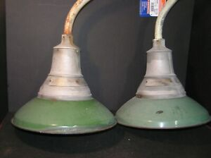 Pair 14 Vintage Industrial Crouse Hinds Explosion Proof Light Fixtures Eva 215