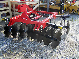 New Dirt Dog Hd 6 Ft 3 Point Disc Harrow free 1000 Mile Delivery From Kentucy