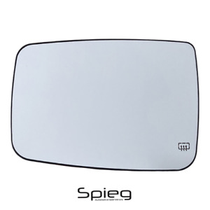 Side Mirror Glass For Dodge Ram 1500 2009 2018 Heated Driver Left 68050299 Aa